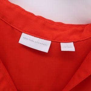New York & Company Tops - New York & Company Sleeveless  Button Down Shirt